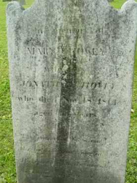HOVEY, MARY - Berkshire County, Massachusetts | MARY HOVEY - Massachusetts Gravestone Photos