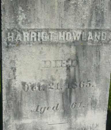 HOWLAND, HARRIET - Berkshire County, Massachusetts | HARRIET HOWLAND - Massachusetts Gravestone Photos