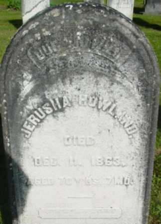 HOWLAND, JERUSHA - Berkshire County, Massachusetts   JERUSHA HOWLAND - Massachusetts Gravestone Photos