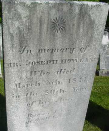 HOWLAND, JOSEPH - Berkshire County, Massachusetts   JOSEPH HOWLAND - Massachusetts Gravestone Photos