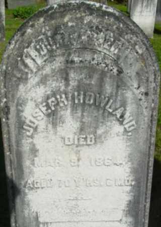 HOWLAND, JOSEPH - Berkshire County, Massachusetts | JOSEPH HOWLAND - Massachusetts Gravestone Photos