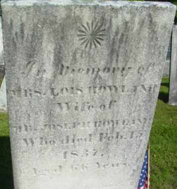 HOWLAND, LOIS - Berkshire County, Massachusetts   LOIS HOWLAND - Massachusetts Gravestone Photos