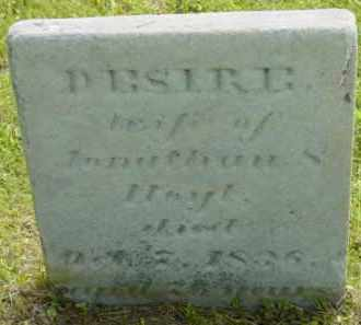 HOYT, DESIRE - Berkshire County, Massachusetts   DESIRE HOYT - Massachusetts Gravestone Photos