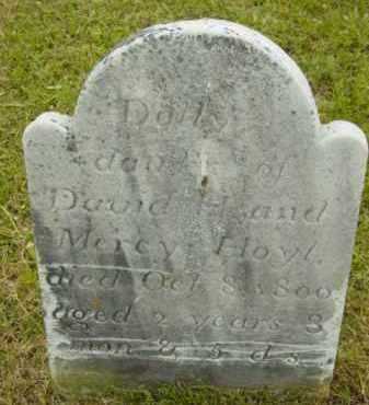 HOYT, DOLLY - Berkshire County, Massachusetts | DOLLY HOYT - Massachusetts Gravestone Photos