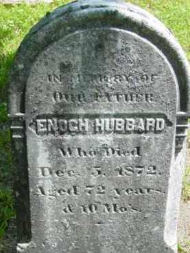 HUBBARD, ENOCH - Berkshire County, Massachusetts | ENOCH HUBBARD - Massachusetts Gravestone Photos