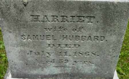 HUBBARD, HARRIET - Berkshire County, Massachusetts | HARRIET HUBBARD - Massachusetts Gravestone Photos