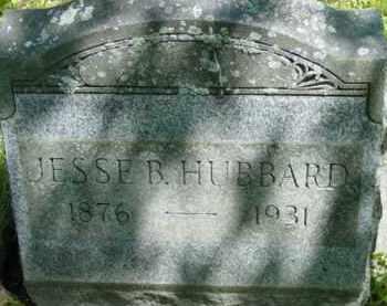 HUBBARD, JESSE B - Berkshire County, Massachusetts | JESSE B HUBBARD - Massachusetts Gravestone Photos