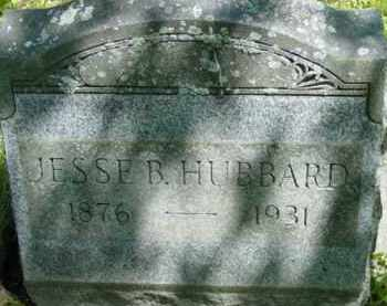 HUBBARD, JESSE B - Berkshire County, Massachusetts | JESSE B HUBBARD - Massachusetts Gravestone Photos