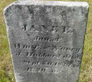 HUBBARD, JANE E - Berkshire County, Massachusetts | JANE E HUBBARD - Massachusetts Gravestone Photos