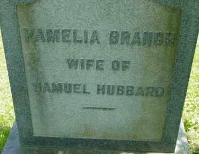 BRANCH HUBBARD, PAMELIA - Berkshire County, Massachusetts | PAMELIA BRANCH HUBBARD - Massachusetts Gravestone Photos