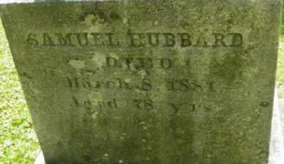 HUBBARD, SAMUEL - Berkshire County, Massachusetts | SAMUEL HUBBARD - Massachusetts Gravestone Photos