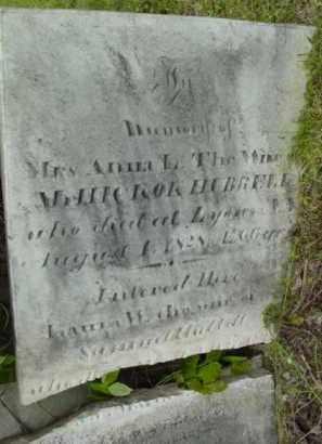 HUBBELL, ANNA - Berkshire County, Massachusetts | ANNA HUBBELL - Massachusetts Gravestone Photos