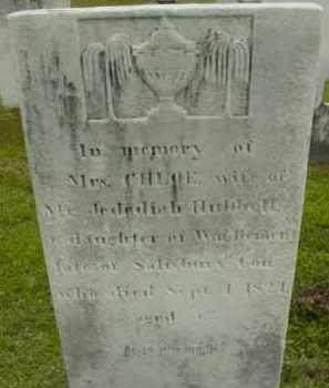 HUBBELL, CHLOE - Berkshire County, Massachusetts | CHLOE HUBBELL - Massachusetts Gravestone Photos