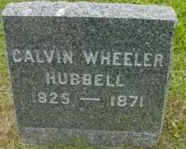 HUBBELL, CALVIN WHEELER - Berkshire County, Massachusetts | CALVIN WHEELER HUBBELL - Massachusetts Gravestone Photos