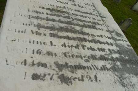 HUBBELL, CAROLINE L - Berkshire County, Massachusetts | CAROLINE L HUBBELL - Massachusetts Gravestone Photos