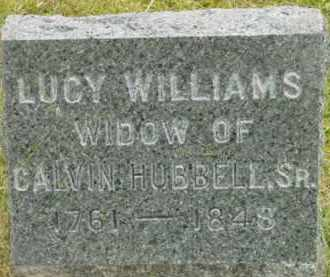 HUBBELL, LUCY - Berkshire County, Massachusetts | LUCY HUBBELL - Massachusetts Gravestone Photos