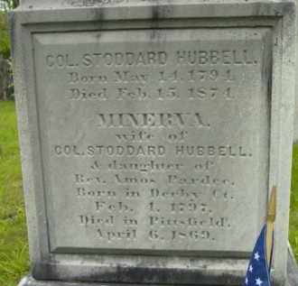 HUBBELL, STODDARD - Berkshire County, Massachusetts | STODDARD HUBBELL - Massachusetts Gravestone Photos