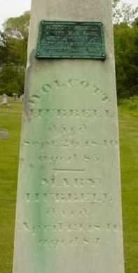 HUBBELL, WOLCOTT - Berkshire County, Massachusetts | WOLCOTT HUBBELL - Massachusetts Gravestone Photos