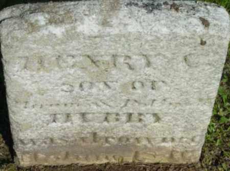 HUBBY, HENRY C - Berkshire County, Massachusetts | HENRY C HUBBY - Massachusetts Gravestone Photos