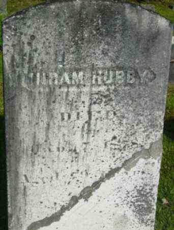 HUBBY, HIRAM - Berkshire County, Massachusetts | HIRAM HUBBY - Massachusetts Gravestone Photos