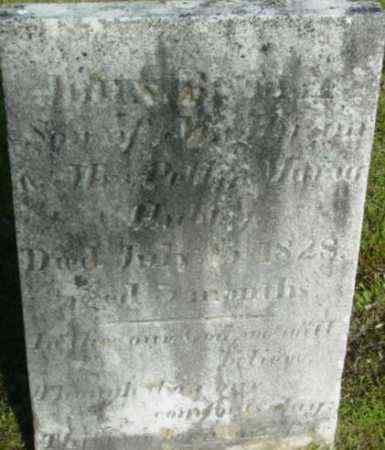 HUBBY, JOHN BUTLER - Berkshire County, Massachusetts | JOHN BUTLER HUBBY - Massachusetts Gravestone Photos