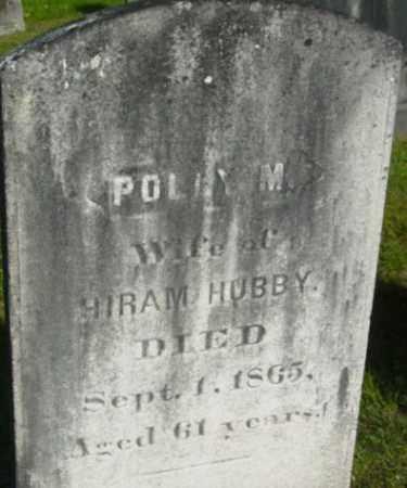 HUBBY, POLLY M - Berkshire County, Massachusetts | POLLY M HUBBY - Massachusetts Gravestone Photos