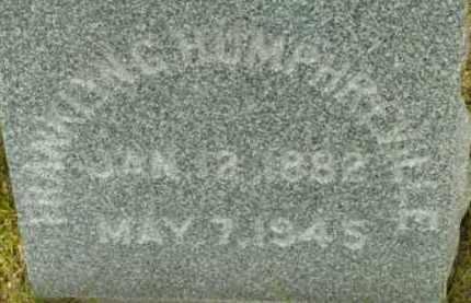 HUMPHREVILLE, FRANKLIN G - Berkshire County, Massachusetts | FRANKLIN G HUMPHREVILLE - Massachusetts Gravestone Photos