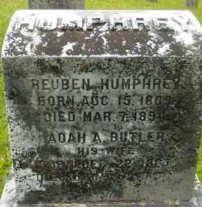 HUMPHREY, REUBEN - Berkshire County, Massachusetts | REUBEN HUMPHREY - Massachusetts Gravestone Photos