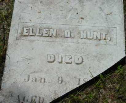 HUNT, ELLEN O - Berkshire County, Massachusetts | ELLEN O HUNT - Massachusetts Gravestone Photos