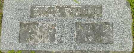 HUNT, EARLE W - Berkshire County, Massachusetts   EARLE W HUNT - Massachusetts Gravestone Photos