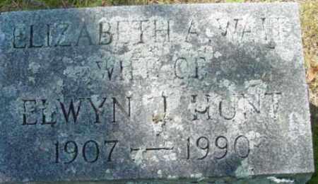 HUNT, ELIZABETH A - Berkshire County, Massachusetts | ELIZABETH A HUNT - Massachusetts Gravestone Photos