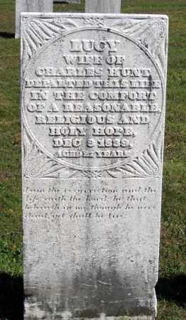 HUNT, LUCY - Berkshire County, Massachusetts | LUCY HUNT - Massachusetts Gravestone Photos