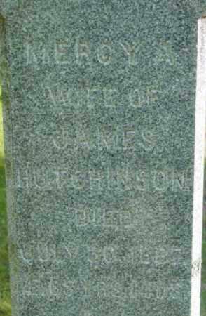 HUTCHINSON, MERCY A - Berkshire County, Massachusetts   MERCY A HUTCHINSON - Massachusetts Gravestone Photos