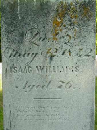 ISAAC, WILLIAMS - Berkshire County, Massachusetts | WILLIAMS ISAAC - Massachusetts Gravestone Photos