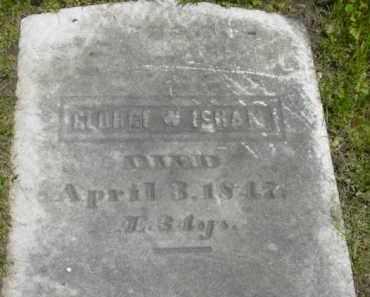 ISHAM, GEORGE W - Berkshire County, Massachusetts | GEORGE W ISHAM - Massachusetts Gravestone Photos