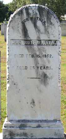 IVES, RUTH F. - Berkshire County, Massachusetts | RUTH F. IVES - Massachusetts Gravestone Photos