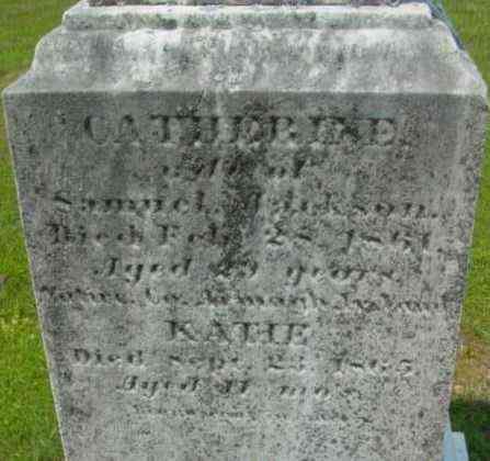 JACKSON, KATIE - Berkshire County, Massachusetts | KATIE JACKSON - Massachusetts Gravestone Photos