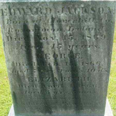 JACKSON, ELIZABETH - Berkshire County, Massachusetts | ELIZABETH JACKSON - Massachusetts Gravestone Photos