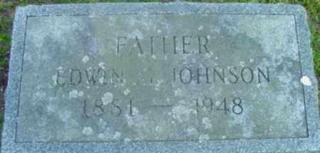 JOHNSON, EDWIN G - Berkshire County, Massachusetts | EDWIN G JOHNSON - Massachusetts Gravestone Photos