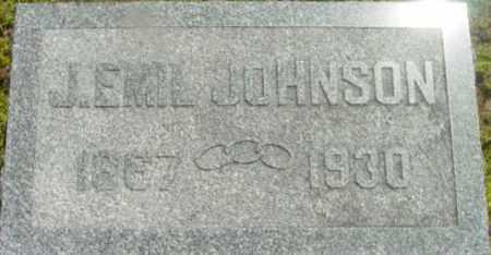 JOHNSON, J EMIL - Berkshire County, Massachusetts   J EMIL JOHNSON - Massachusetts Gravestone Photos