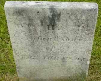 JOHNSON, WILLIAM H - Berkshire County, Massachusetts | WILLIAM H JOHNSON - Massachusetts Gravestone Photos