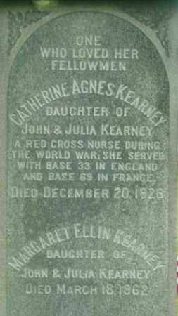 KEARNEY, MARGARET ELLIN - Berkshire County, Massachusetts | MARGARET ELLIN KEARNEY - Massachusetts Gravestone Photos