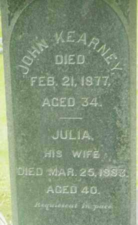 KEARNEY, JULIA - Berkshire County, Massachusetts | JULIA KEARNEY - Massachusetts Gravestone Photos
