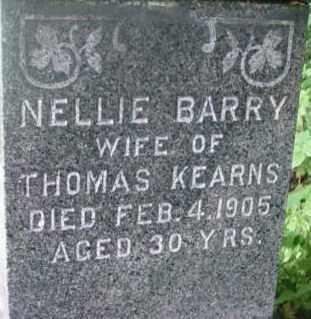 BARRY, NELLIE - Berkshire County, Massachusetts | NELLIE BARRY - Massachusetts Gravestone Photos