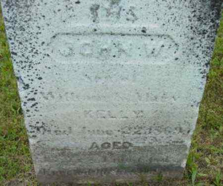 KELLY, JOHN W - Berkshire County, Massachusetts   JOHN W KELLY - Massachusetts Gravestone Photos