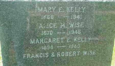 KELLY, MARY E - Berkshire County, Massachusetts | MARY E KELLY - Massachusetts Gravestone Photos