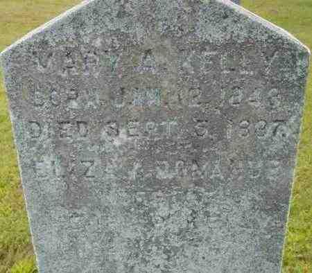 KELLY, MARY A - Berkshire County, Massachusetts   MARY A KELLY - Massachusetts Gravestone Photos