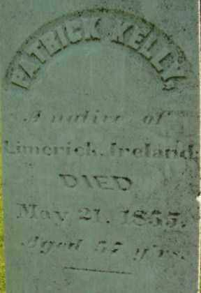 KELLY, PATRICK - Berkshire County, Massachusetts   PATRICK KELLY - Massachusetts Gravestone Photos