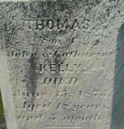 KELLY, THOMAS - Berkshire County, Massachusetts | THOMAS KELLY - Massachusetts Gravestone Photos