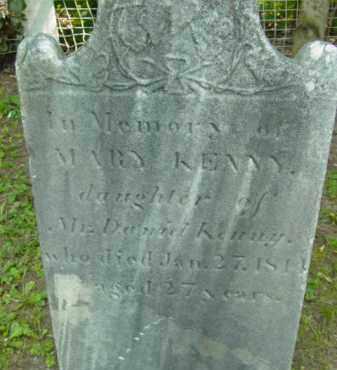 KENNY, MARY - Berkshire County, Massachusetts   MARY KENNY - Massachusetts Gravestone Photos